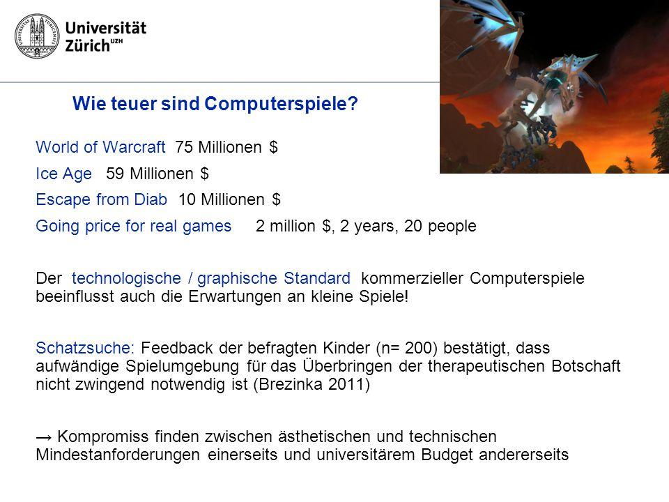 Wie teuer sind Computerspiele