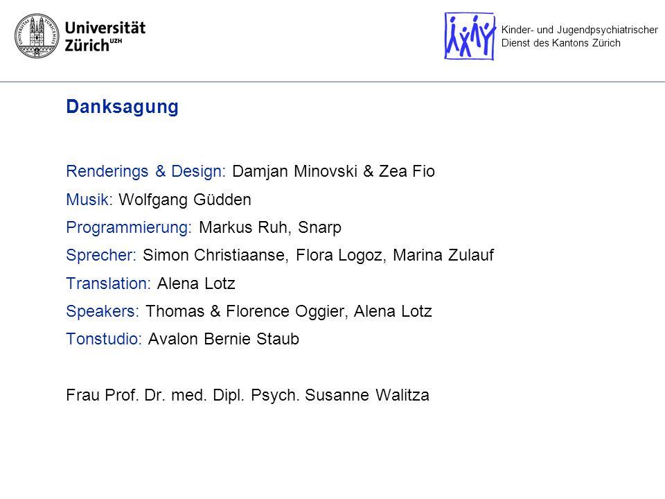 Danksagung Renderings & Design: Damjan Minovski & Zea Fio