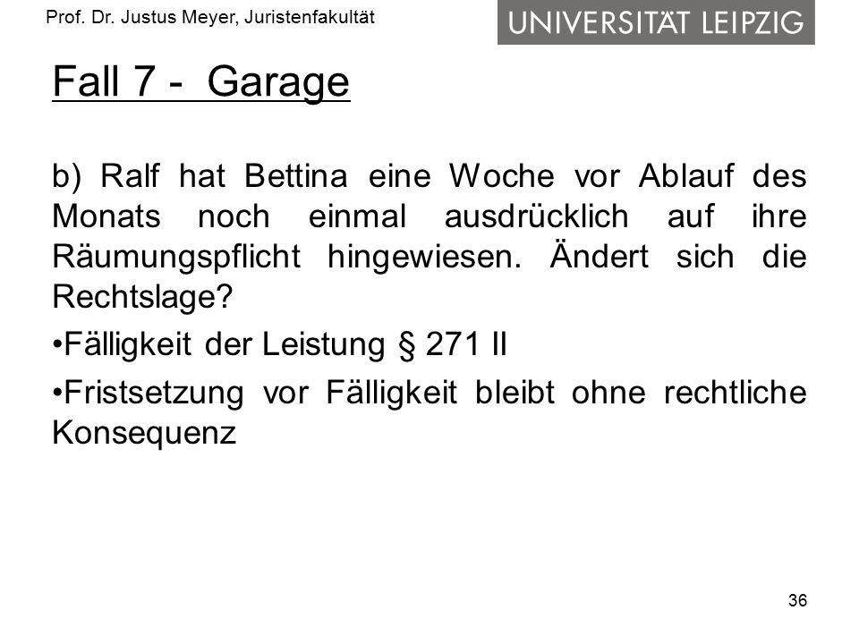 Fall 7 - Garage