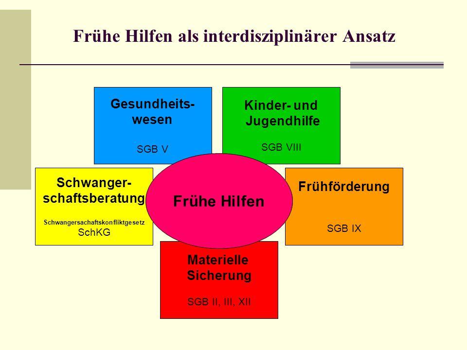 Frühe Hilfen als interdisziplinärer Ansatz