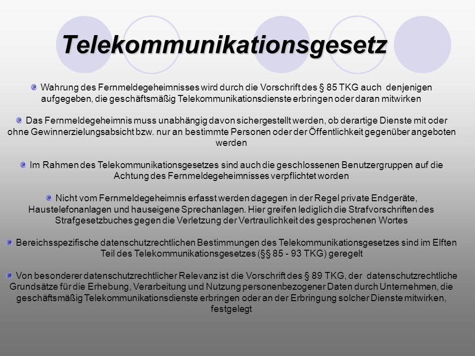 Telekommunikationsgesetz
