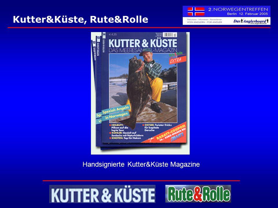 Handsignierte Kutter&Küste Magazine
