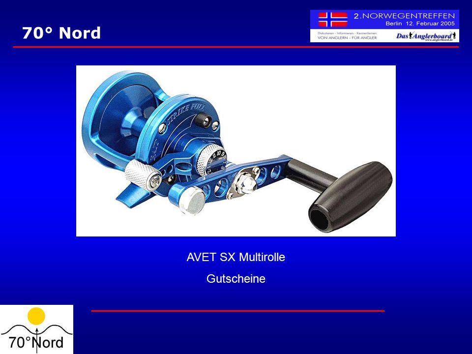 70° Nord AVET SX Multirolle Gutscheine