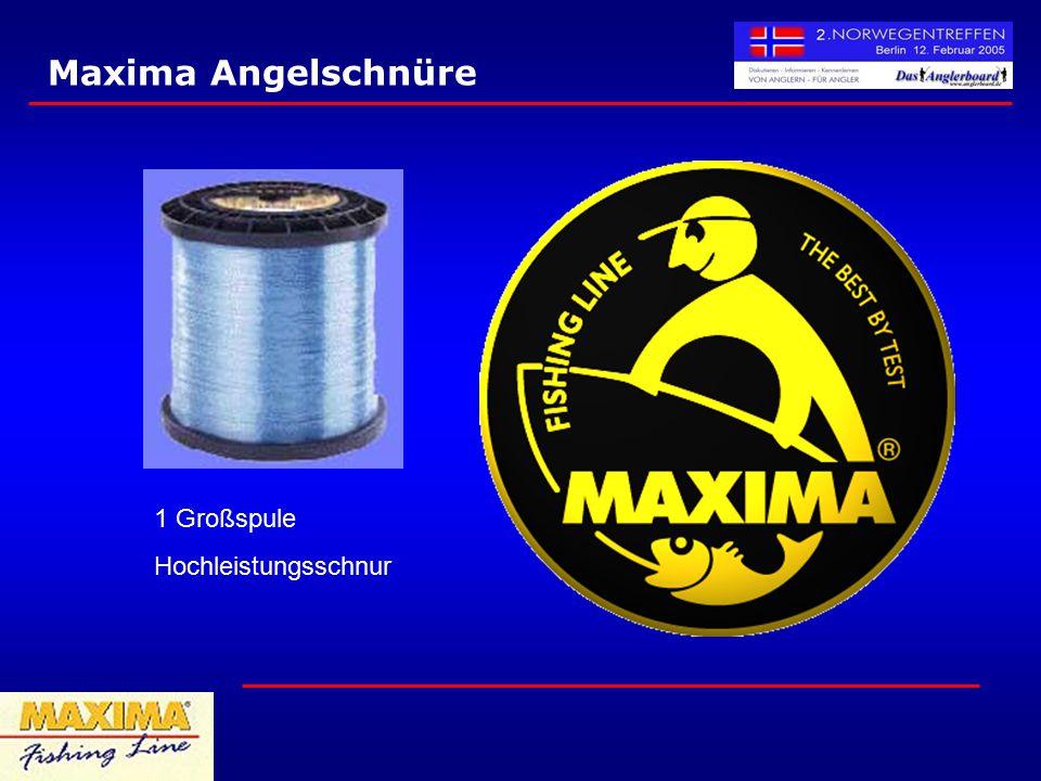 Maxima Angelschnüre 1 Großspule Hochleistungsschnur