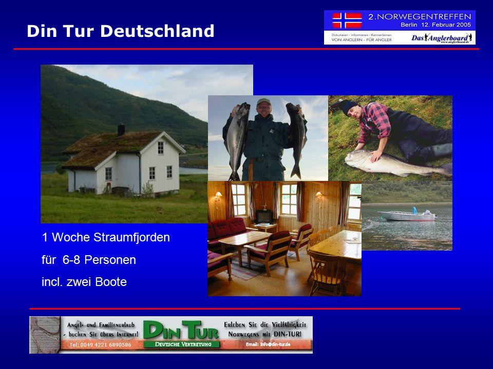 Din Tur Deutschland 1 Woche Straumfjorden für 6-8 Personen