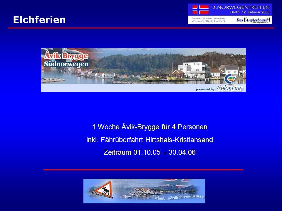 Elchferien 1 Woche Åvik-Brygge für 4 Personen