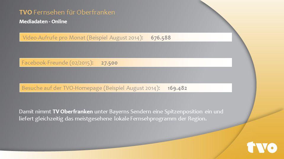TVO Fernsehen für Oberfranken