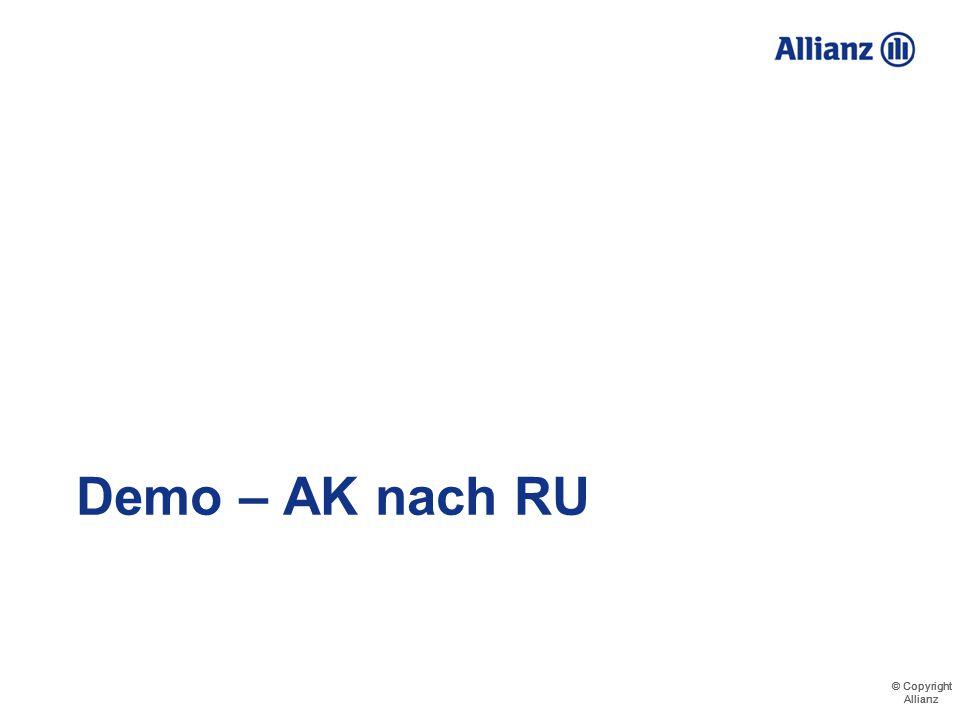 Demo – AK nach RU