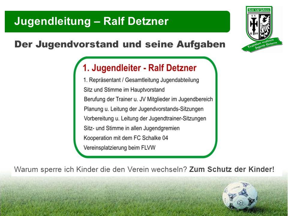 Jugendleitung – Ralf Detzner