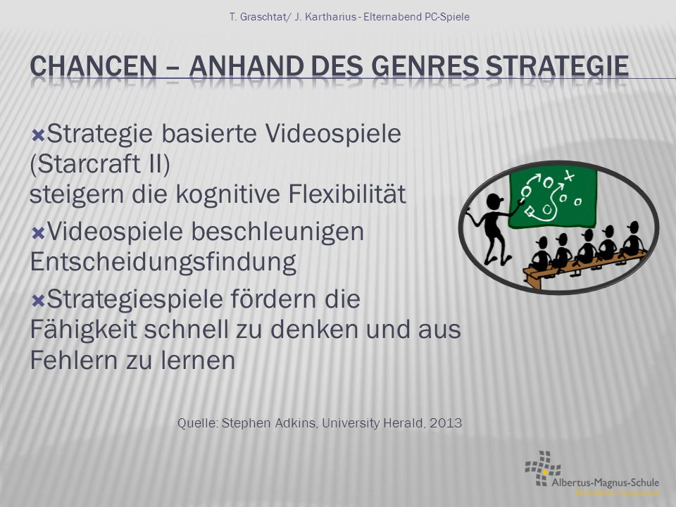Chancen – Anhand des Genres Strategie