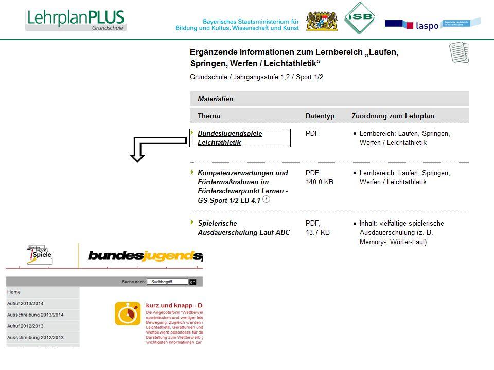 Beispiel für LIS +Materialien: Link zur entsprechenden Seite