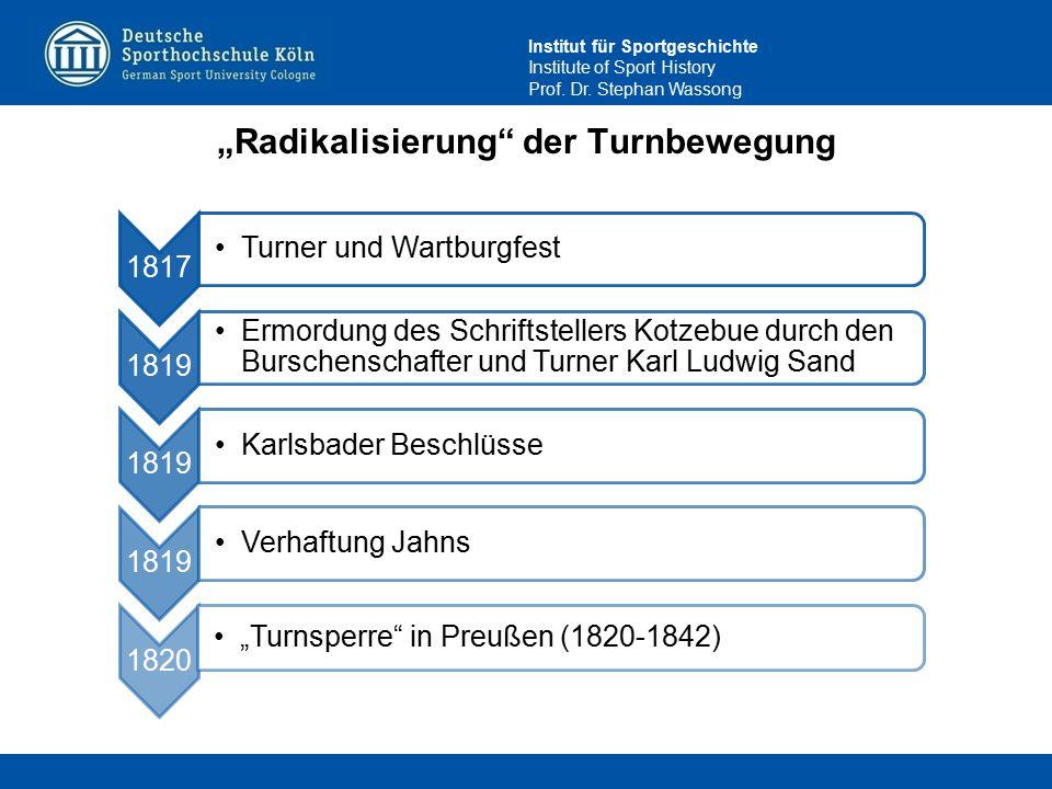 """""""Radikalisierung der Turnbewegung"""