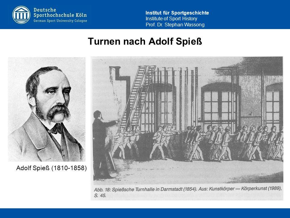 Turnen nach Adolf Spieß