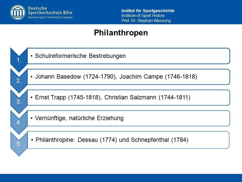 Philanthropen 4. Schulreformerische Bestrebungen