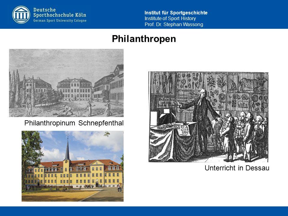 Philanthropen Philanthropinum Schnepfenthal Unterricht in Dessau