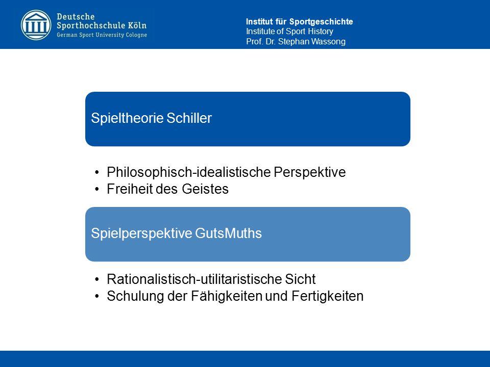 Spieltheorie Schiller