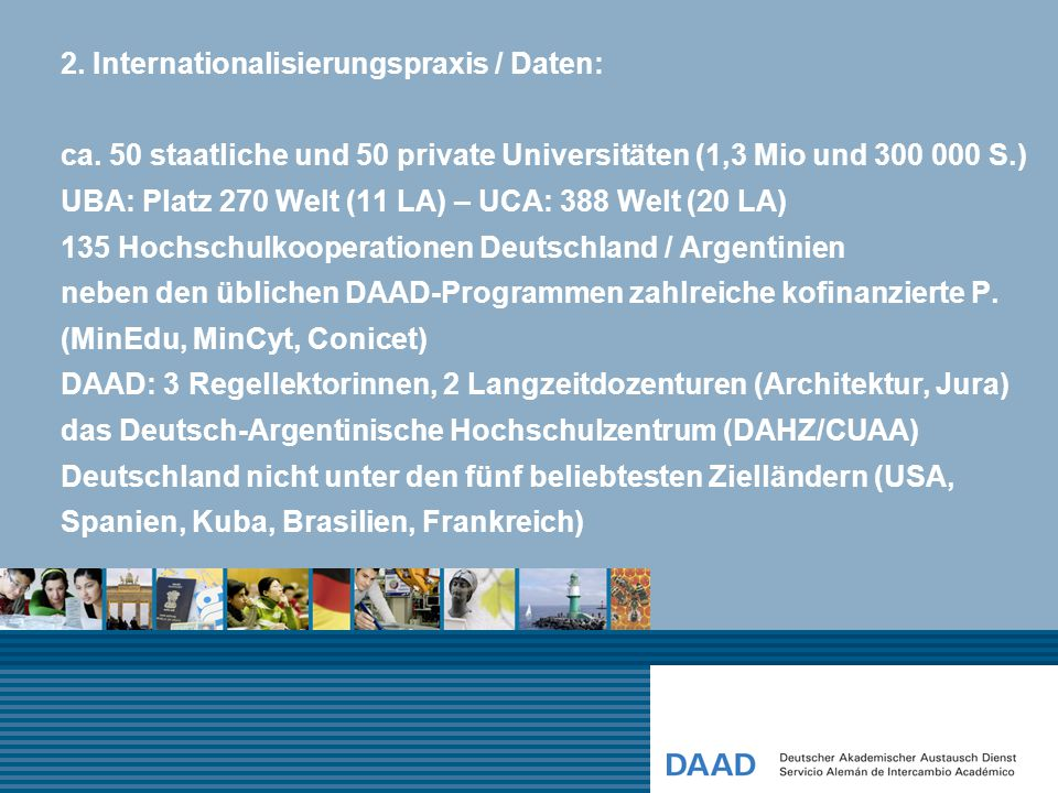 2. Internationalisierungspraxis / Daten: ca