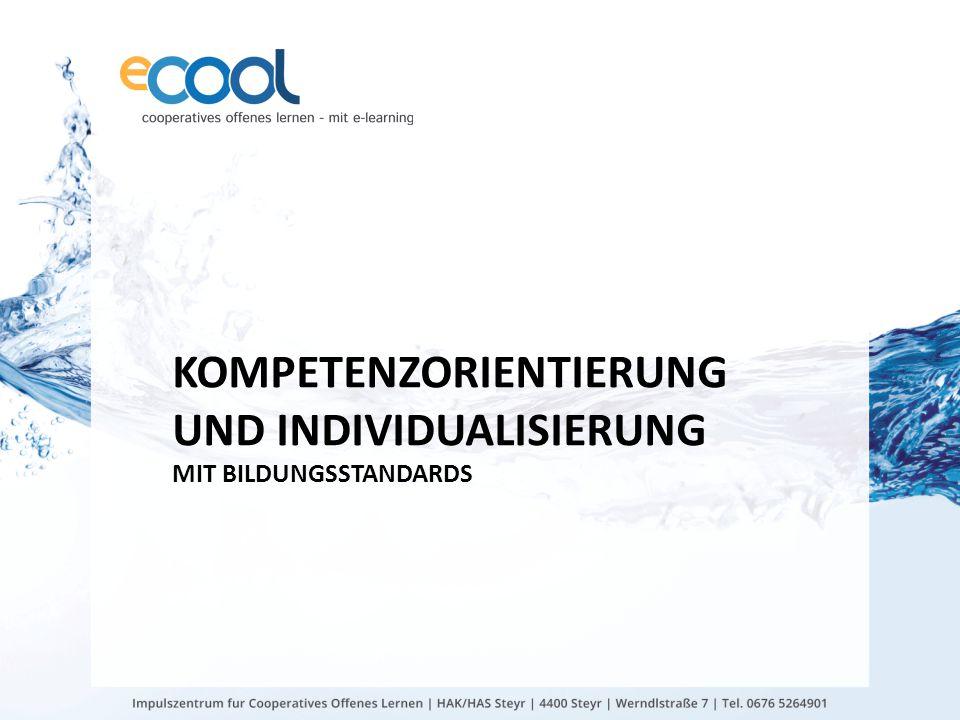 Kompetenzorientierung und Individualisierung mit Bildungsstandards