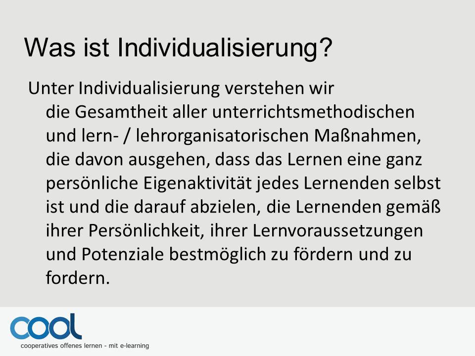 Was ist Individualisierung