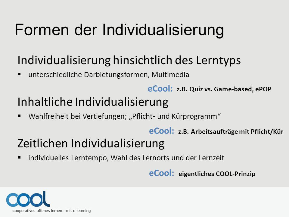 Formen der Individualisierung