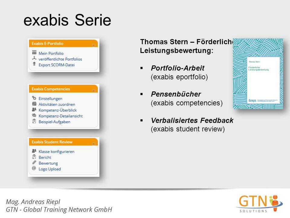 exabis Serie Thomas Stern – Förderliche Leistungsbewertung: