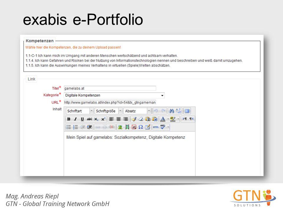 exabis e-Portfolio