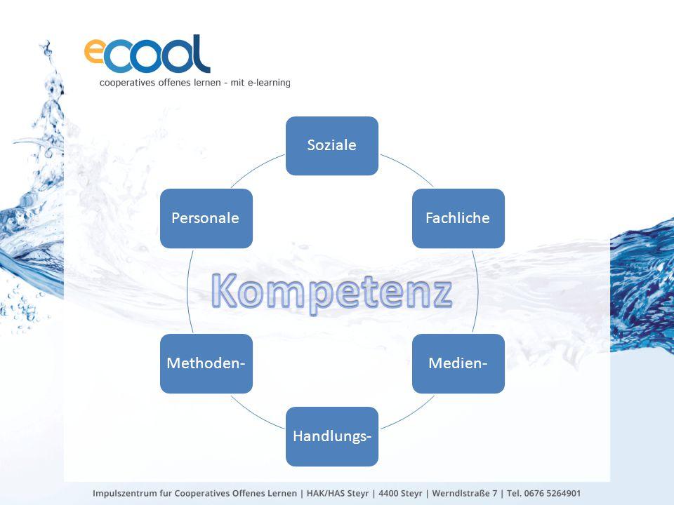 Soziale Fachliche Medien- Handlungs- Methoden- Personale Kompetenz