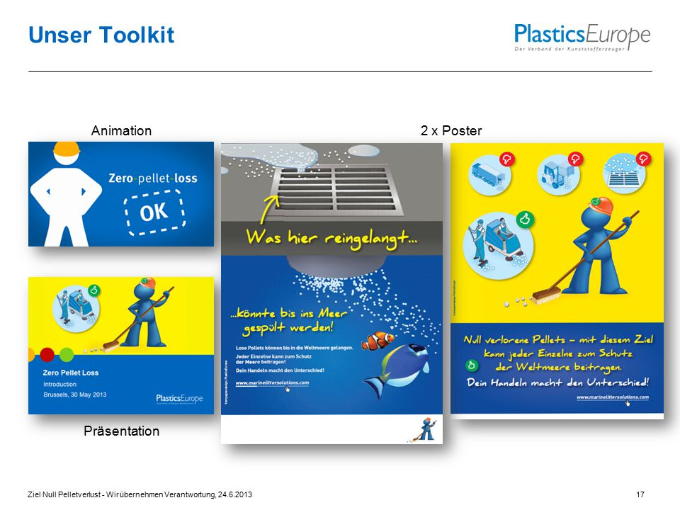 Unser Toolkit Animation 2 x Poster Präsentation