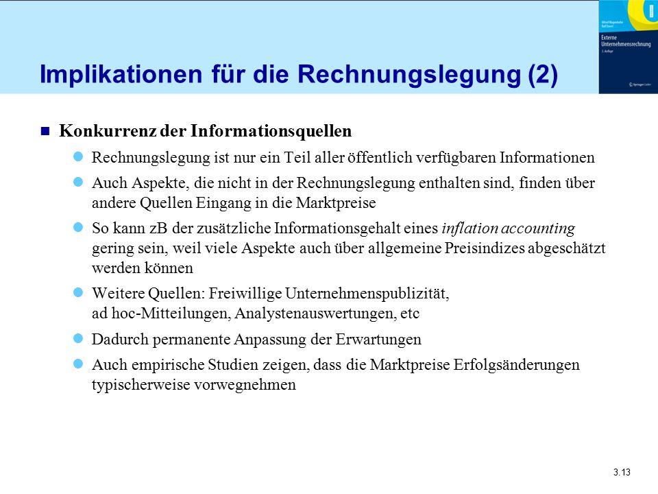 Implikationen für die Rechnungslegung (2)