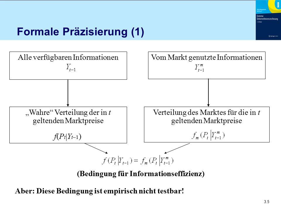Formale Präzisierung (1)