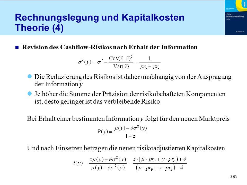 Rechnungslegung und Kapitalkosten Theorie (4)