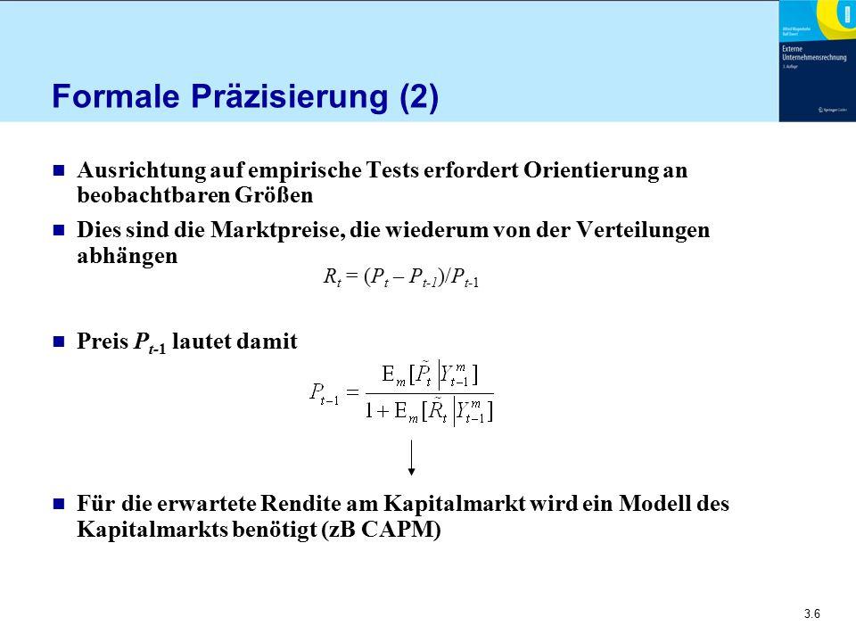 Formale Präzisierung (2)