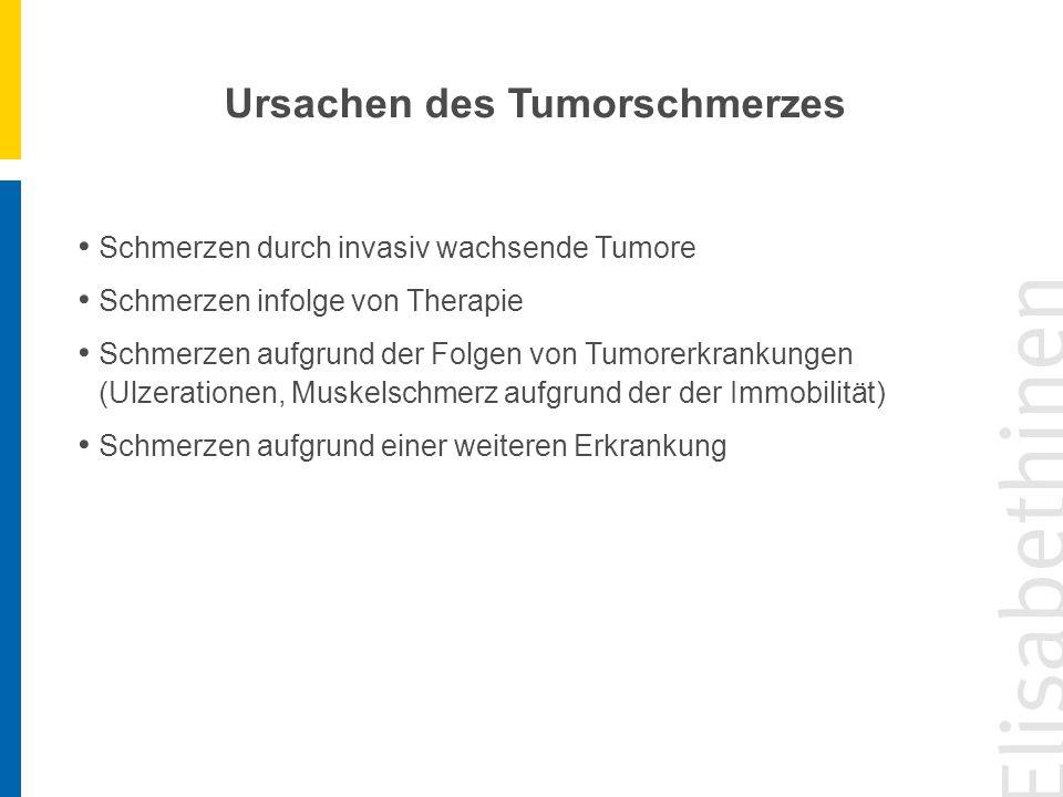 Ursachen des Tumorschmerzes