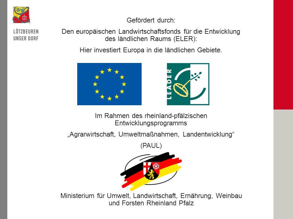 Hier investiert Europa in die ländlichen Gebiete.