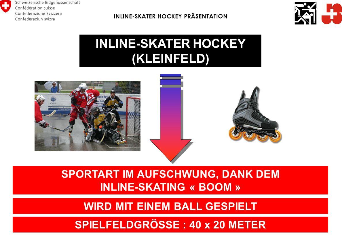 INLINE-SKATER HOCKEY (KLEINFELD)