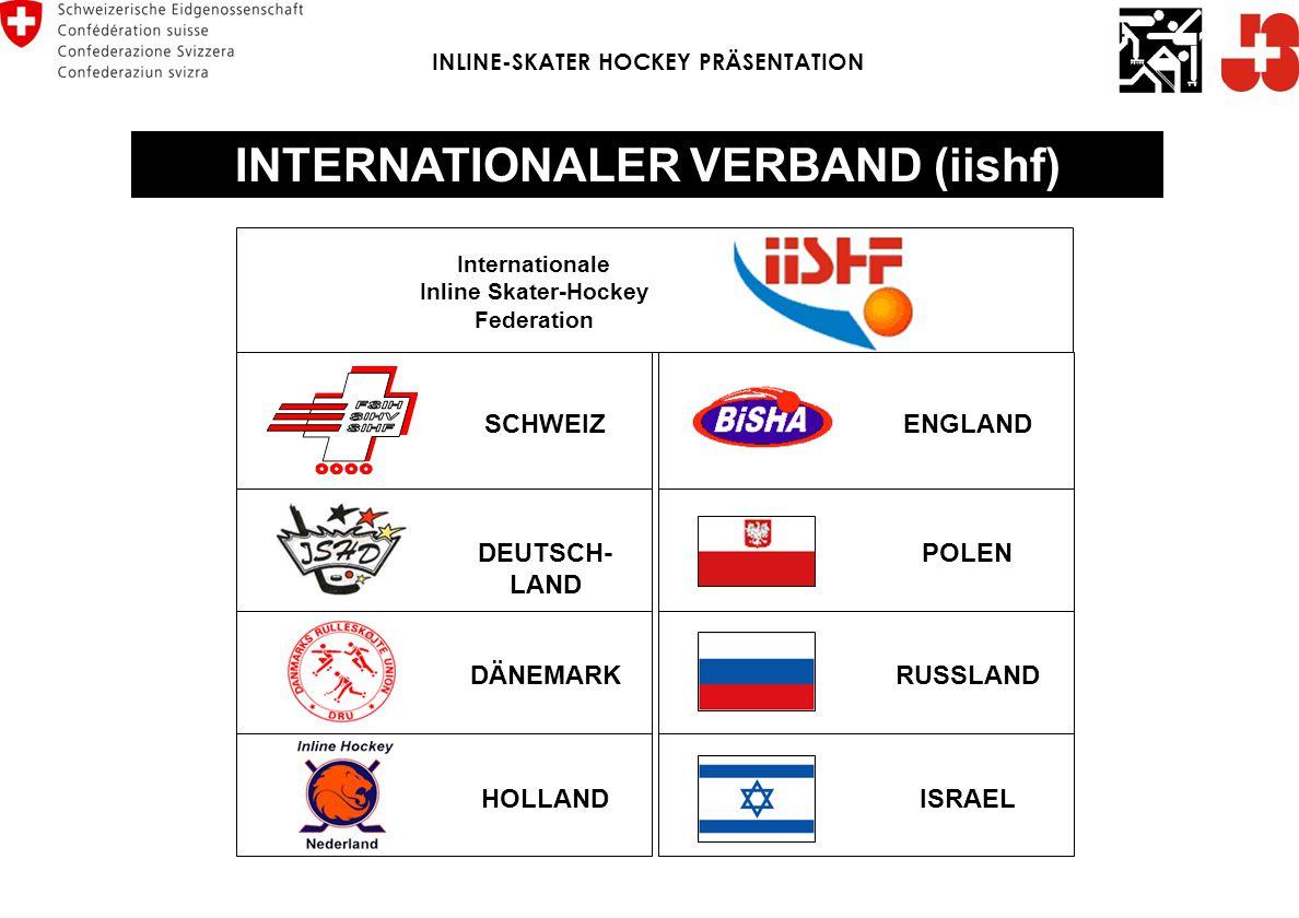 INLINE-SKATER HOCKEY PRÄSENTATION INTERNATIONALER VERBAND (iishf)