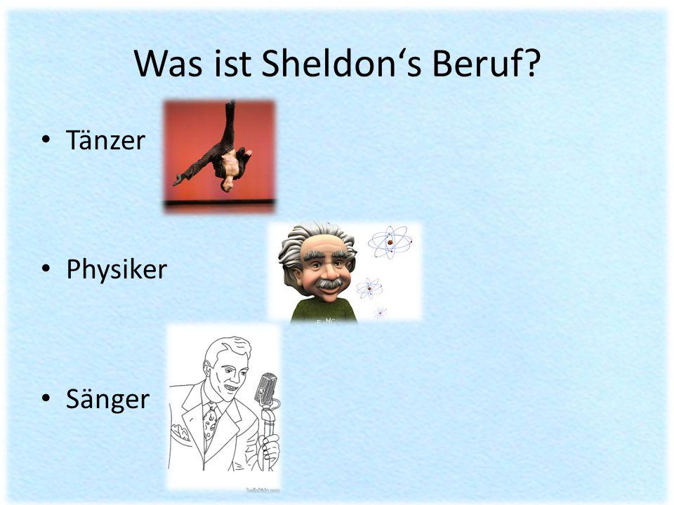 Was ist Sheldon's Beruf