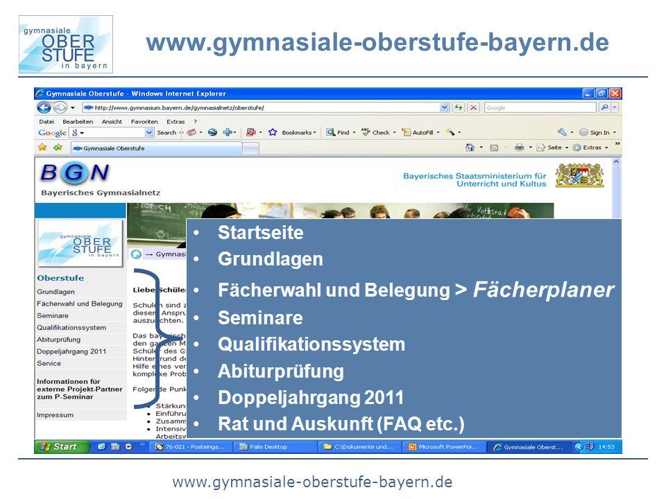 www.gymnasiale-oberstufe-bayern.de Startseite Grundlagen