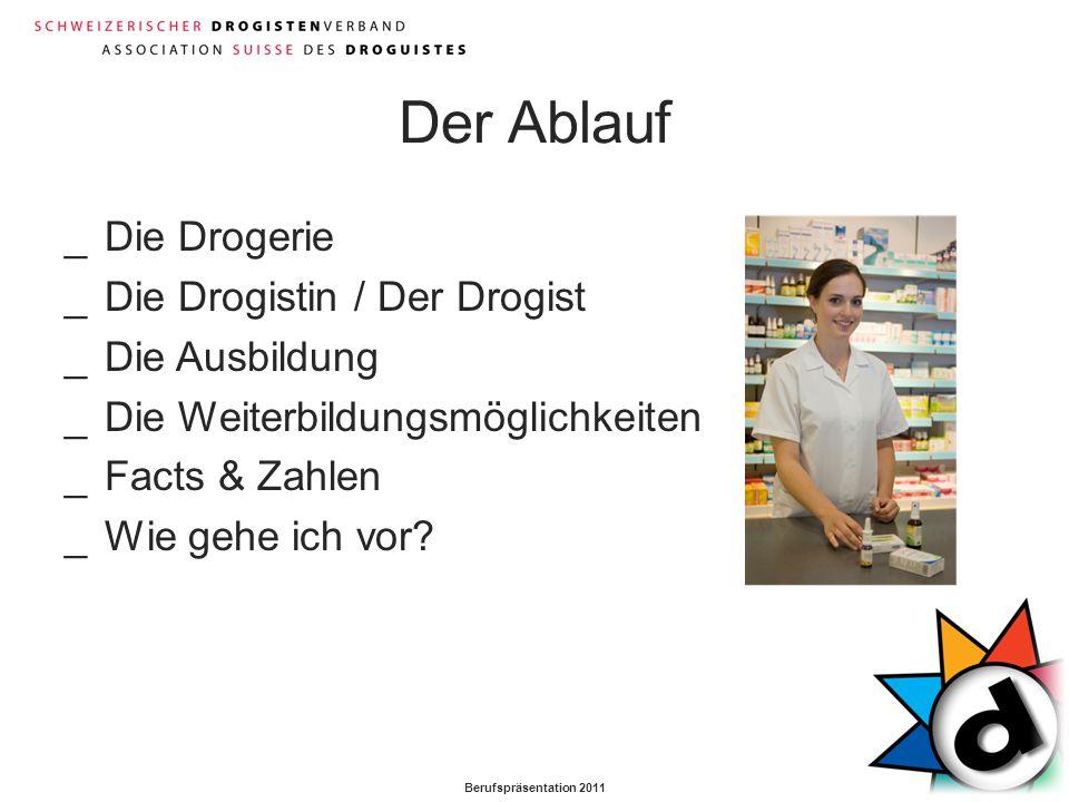 Der Ablauf Die Drogerie Die Drogistin / Der Drogist Die Ausbildung