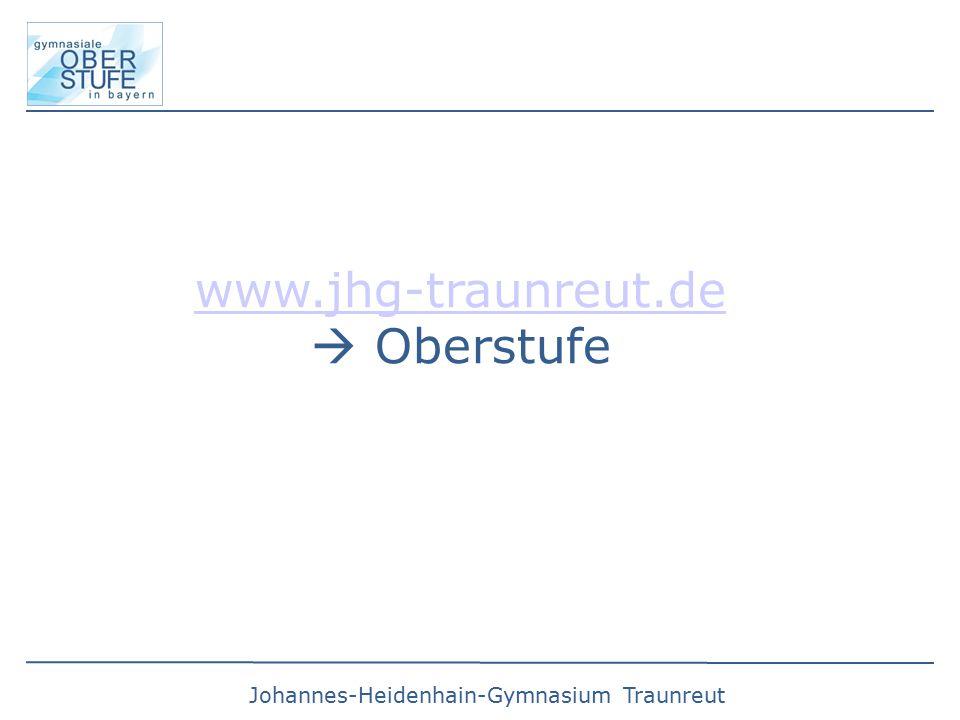 www.jhg-traunreut.de  Oberstufe