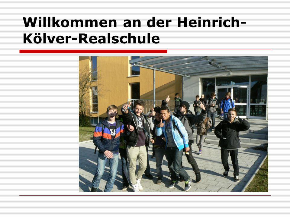 Willkommen an der Heinrich-Kölver-Realschule