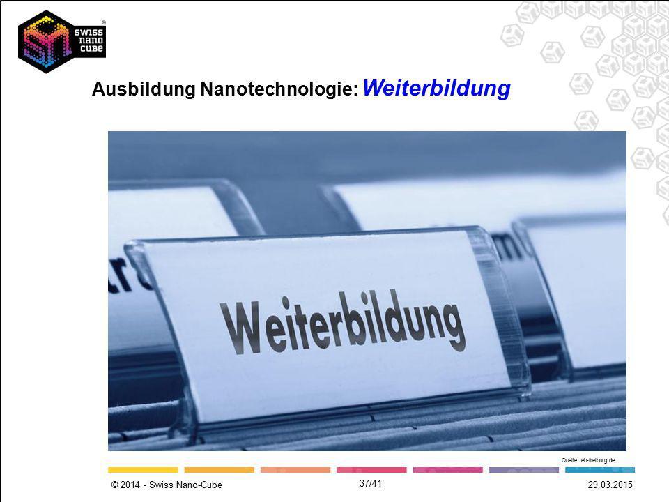 Ausbildung Nanotechnologie: Weiterbildung