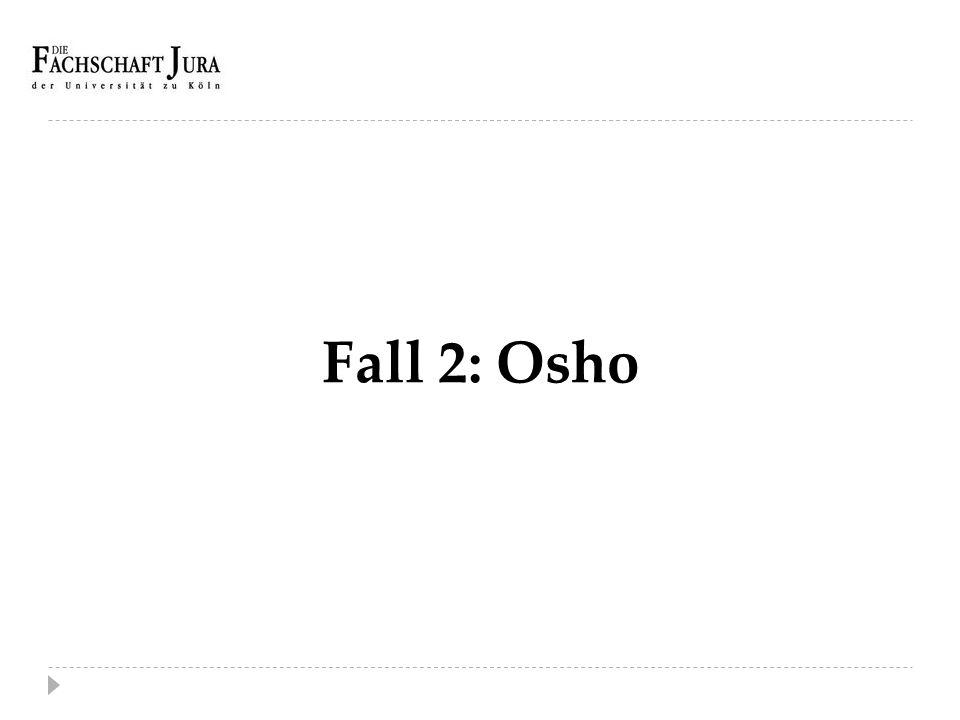 Fall 2: Osho