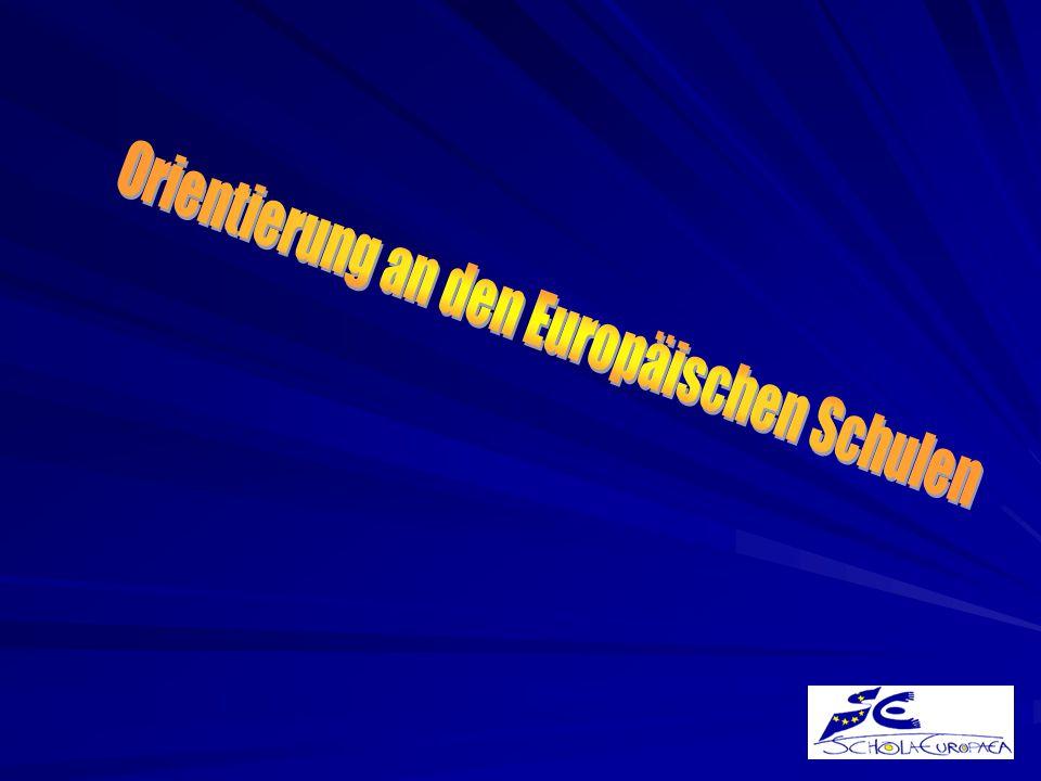 Orientierung an den Europäischen Schulen