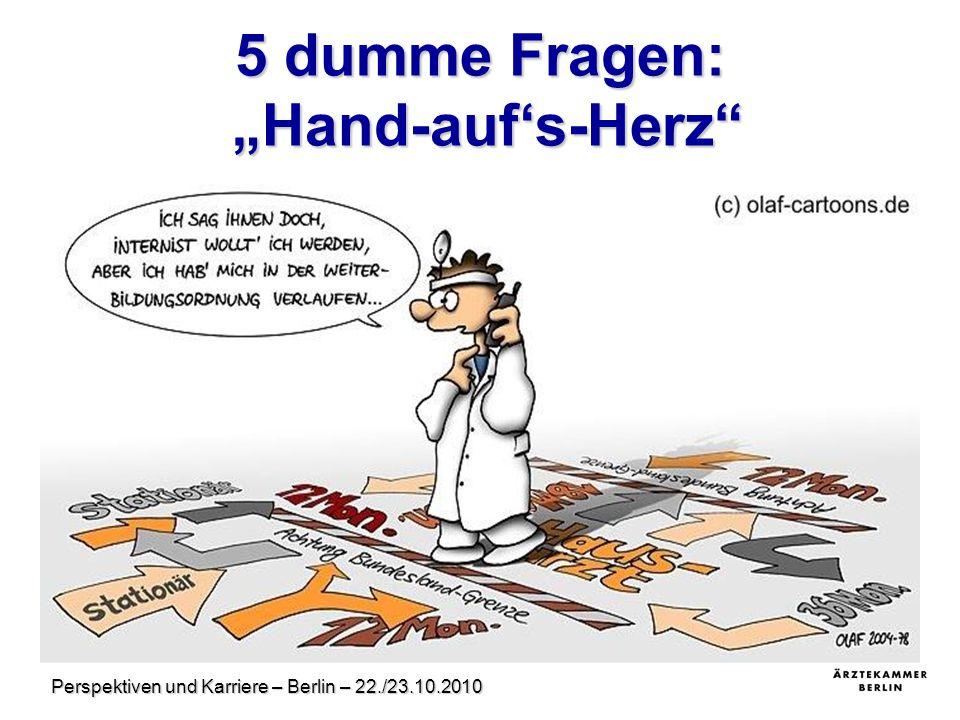 """5 dumme Fragen: """"Hand-auf's-Herz"""