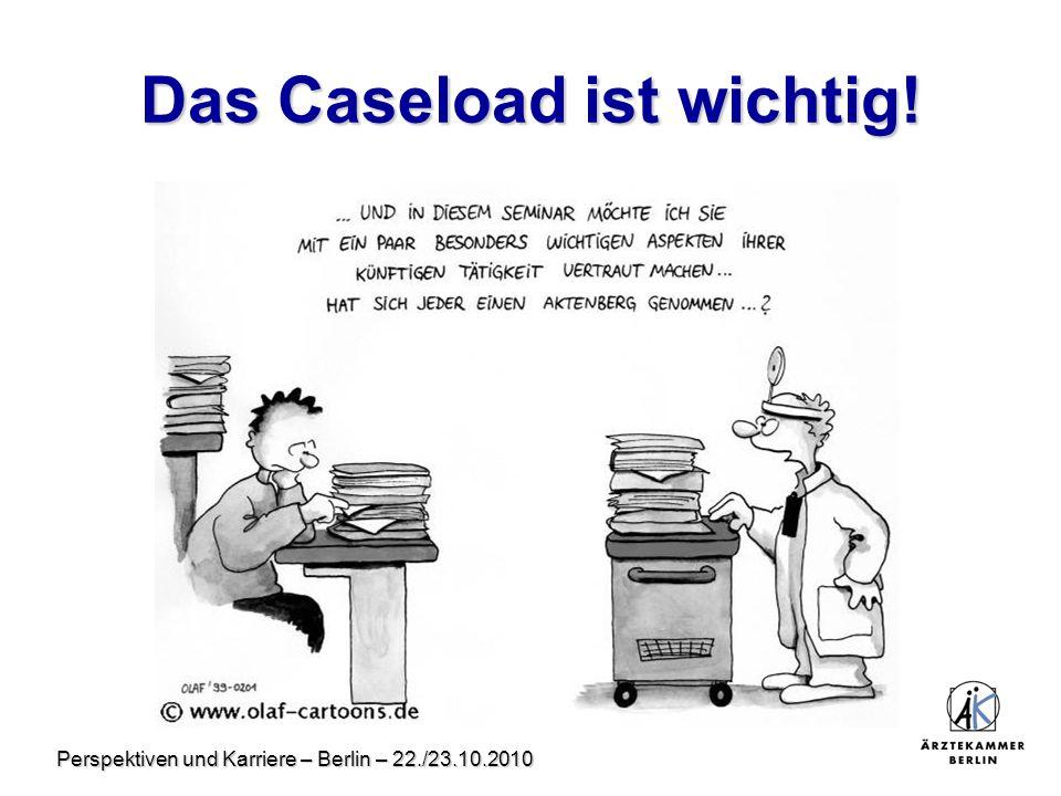 Das Caseload ist wichtig!