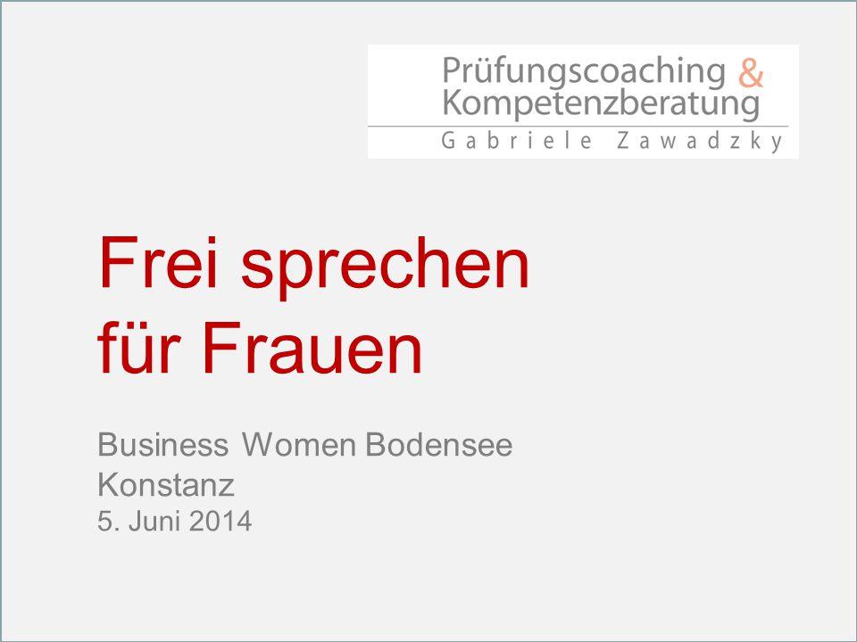 Frei sprechen für Frauen