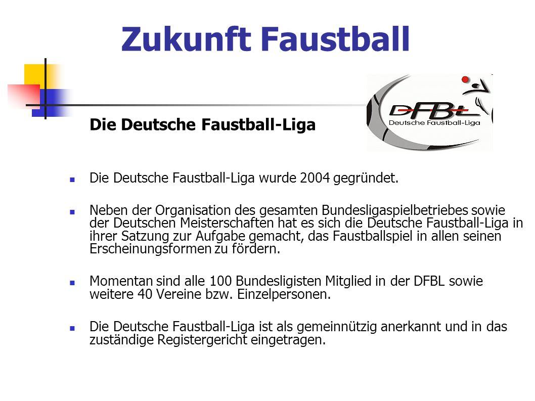 Zukunft Faustball Die Deutsche Faustball-Liga