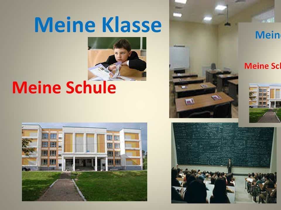 Meine Klasse Meine Schule