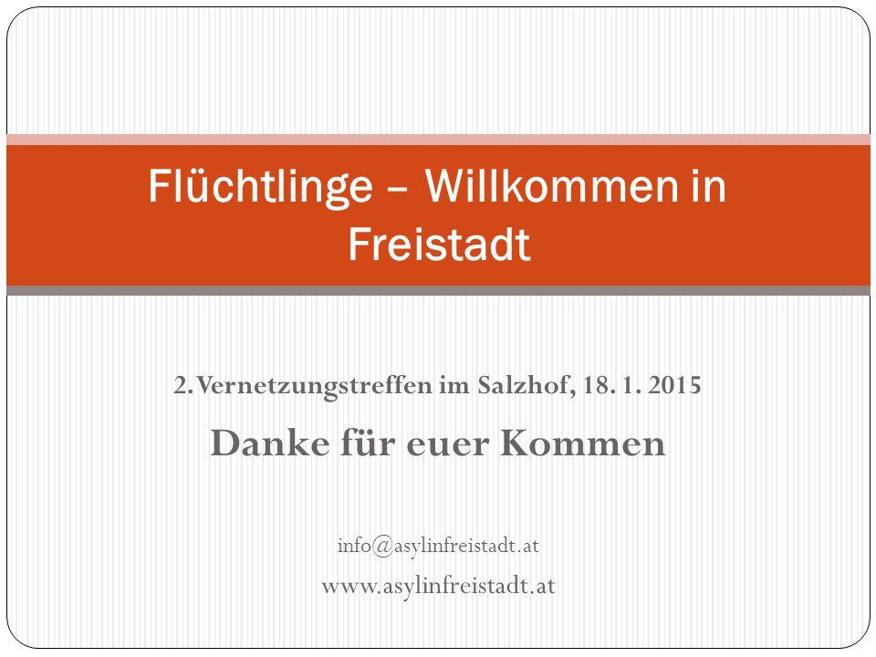 Flüchtlinge – Willkommen in Freistadt